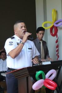 Sub Comisionado Milton Salguero.