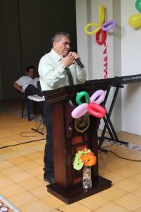 José René Gonzáles, coordinador general del Ministerio Cristiano Policial