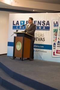Luis Medina, Director de La Prensa Cristiana.