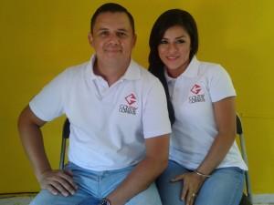 Iván Ramos y su esposa Mónica de Ramos, fundadores.