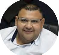 Alex Hércules. Director de Radio Bautista.