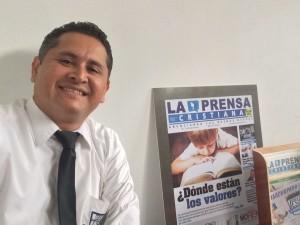 Pastor Amabilex Rodriguez, organizador de Marcha para Jesús