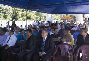 Muchas personas se dieron cita para orar por El Salvador