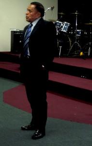 Pastor José Silverio Sánchez.