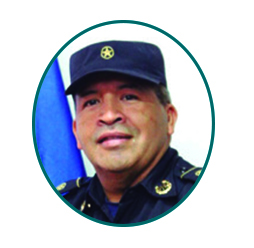 Subcomisionado Milton Josué Salguero del Ministerio Cristiano Policial.