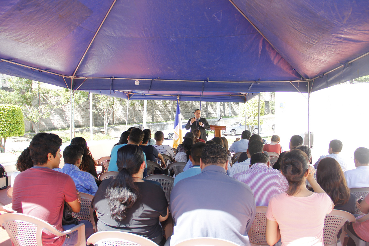 Fotografía cortesía de Universidad Evangélica de El Salvador