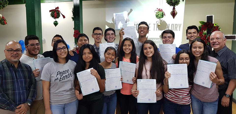 Cortesía cuenta oficial Escuela Cristiana Oasis El Salvador