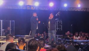 Pablo Rosales y Noel Navas